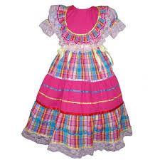Resultado de imagem para vestidos festa junina infantil