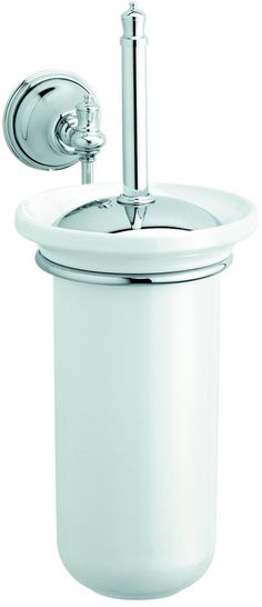 WC-harja ja teline Damixa Tradition kromi - Taloon.com