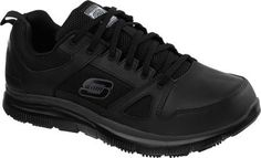Skechers Men's Work Relaxed Fit Flex Advantage SR Black Size 11 W