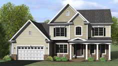 Arts & Crafts House Plan Front of Home - 070D-0731 | House Plans and More