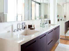 Banheiro branco ou bege: ideias de decoração