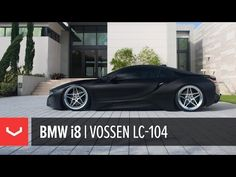 James McDonnell is back again with his Matte Black BMW i8 on Vossen LC-104 Wheels.
