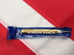 """Window punch steel 5"""" Rothco survival emergency tactical  military safety rescue #Rothco Disaster Kits, Bug Out Bag, Brass Material, Rescue Tool, Punch, Police, Safety, Survival, Military"""