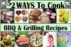 52 Grilling Time Secret Extras... beginner or Pro, there is something in here that will make you the master of your domain, king of the neighborhood BBQ! COndiments, Appetizers, side dishes, even grilled desserts. SECRETS THAT WILL HAVE YOUR GUESTS SINGING!!!