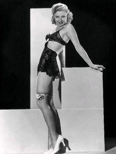 "sparklejamesysparkle: "" Ginger Rogers, publicity portrait for the ""Professional Sweetheart"", "" Hollywood Lingerie, Old Hollywood Glamour, Golden Age Of Hollywood, Vintage Glamour, Vintage Lingerie, Vintage Hollywood, Classic Hollywood, Vintage Burlesque, Lace Lingerie"