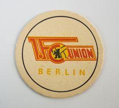 """DDR Museum - Museum: Objektdatenbank - """"Bierdeckel Union Berlin"""" Copyright: DDR Museum, Berlin. Eine kommerzielle Nutzung des Bildes ist nicht erlaubt, but feel free to repin it!"""