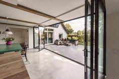 Backyard, Patio, Outdoor Living, Outdoor Decor, Sliding Doors, Villa, Windows, Architecture, Modern