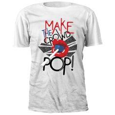Make The Crowd Pop Joey Ryan, Crowd, Random Stuff, Pop, How To Make, Mens Tops, T Shirt, Fashion, Random Things