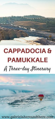 A Three-day Itinerary for Cappadocia and Pamukkale, Turkey. Traveling around Turkey. Turkey Destinations, Europe Destinations, Europe Travel Tips, Travel Advice, Asia Travel, Travel Guides, Travel Checklist, Greece Travel, Travel Hacks