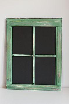 Vintage Window Chalkboard by mikedolinsky on Etsy, $59.00
