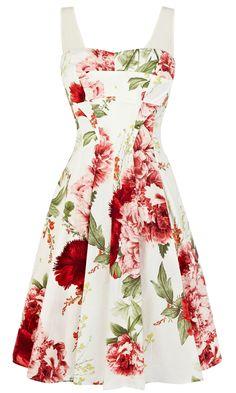 Karen Millen Floral Prom Dress, £160