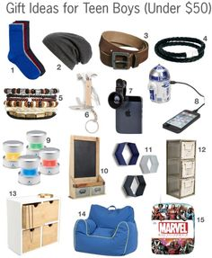 2014 holiday gift guide for teen boys under 50