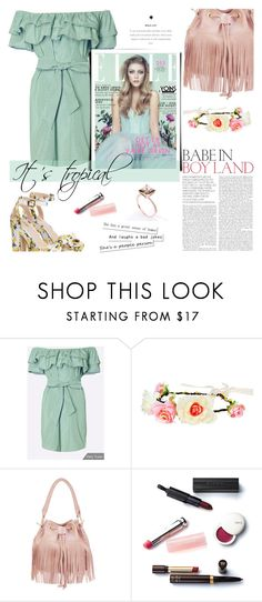 """It's tropical-Yoins15"" by mell-m ❤ liked on Polyvore featuring Retrò and Christian Dior"