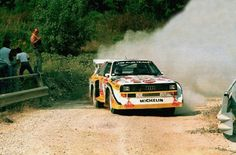 Suche Bild oder Poster Walter Röhrl von San Remo 1985 im Audi Audi S1, Rally Car, Road Rally, Audi Sport, Car And Driver, Audi Quattro, Belle Photo, Motor Car, Cars And Motorcycles