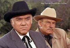 Sheriff Roy Coffee & Ben Cartwright