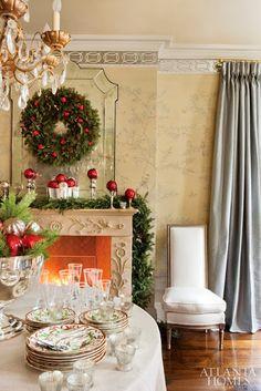 Christmas: Glamour and Traditional/karen cox  Christmas time