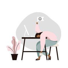 Flat Design Illustration, Digital Illustration, Scary Mommy, Shape Magazine, Art Images, Vector Art, Tired, Pop Art, Creative