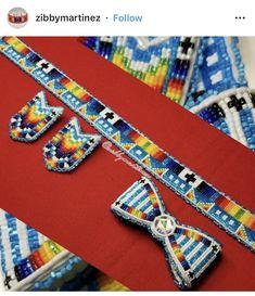 Powwow Beadwork, Powwow Regalia, Indian Beadwork, Native Beadwork, Native American Regalia, Native American Beadwork, Seed Bead Earrings, Beaded Earrings, Beading Projects