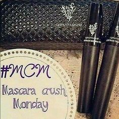 Mascara Monday! (; #FunYouniqueFact If you host a qualifying Younique virtual party, you get a free mascara! Contact me today to get started, it's super easy! Seriously,  you don't have to clean or cook, you can even slip into your PJ's! ;D 7754435862
