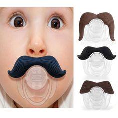 shotcost.com: Funny Mustache Baby Boy Girl Infant