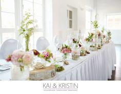 flieder rosa hochzeitsdekoration tischdekoration mit hortensien, Hause und Garten