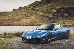 Blue RX-7