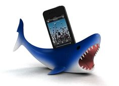 iShark from Shapeways #3dPrinteresting #3dPrinting