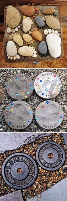 Creative Stepping Stone Ideas