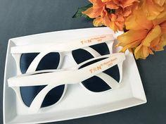 50 Personalized Sun Glasses Beach Wedding Favors Sunglasses