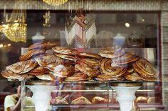 Götheborg Cafe Husaren, Haga, hat die größten und besten Zimtschnecken der Stadt