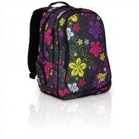 Dwukomorowy plecak młodzieżowy Topgal HIT 832 kwiaty
