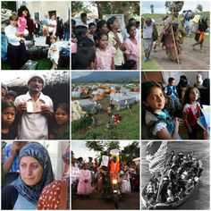 Haiku: Where Is Our Humanity? - Collage of Refugees worldwide | MirthAndMotivation