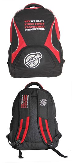 Backpack exclusively manufactured for Carlsberg India (Tuborg) by Crea - India's smartest brand merchandising company.