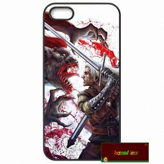 The witcher 3 wild hunt Logo Cover case for iphone 4 4s 5 5s 5c 6 6s plus samsung galaxy S3 S4 mini S5 S6 Note 2 3 4  z1076