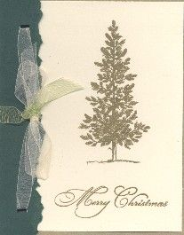 Lovely as a tree  Christmas by jkstampin - Cards and Paper Crafts at Splitcoaststampers