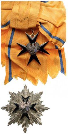 Estonia ORDER OF THE CROSS OF THE EAGLE Grand Cross Set, Civil Division, 1st Class