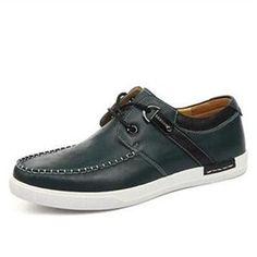 Giày da nam Simier 1317 - Sắc xanh quân đội