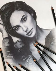Artist Makes Amazing Hyper-Realistic Drawings Using Only Colored Pencils Realistic Sketch, Realistic Pencil Drawings, Horse Drawings, Graphite Drawings, Art Drawings Sketches, Drawing Art, Drawing Faces, Art Illustrations, Drawing Techniques Pencil
