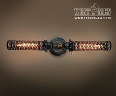Westmenlights Double Arms Metal Mesh Wall Lamp Sconce-Vintage Industrial Bar Aisle Home Light