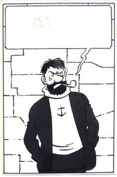 Hergé-Haddock