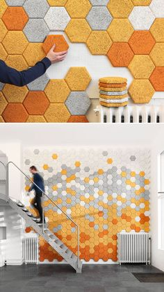 Hexagonal Tiles, would take a while, but awesome!