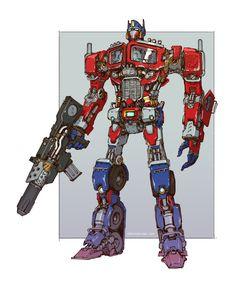 Transformers - Optimus Prime by emersontung.deviantart.com on @DeviantArt