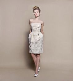 Szyjemy Sukienki Wedding Gowns, Strapless Dress, Cocktails, Formal Dresses, My Style, Shopping, Vintage, Design, Creme