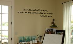 Picasso Wall Decal