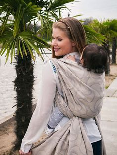 Lightweight Baby Wrap Temari Fujin Dove - ice cotton for a cool feel. Made in Scotland by Oscha Slings. Ice Cotton, Temari Patterns, Baby Wraps, Baby Wearing, Snug Fit, Baby Kids, Scotland, How To Wear, Stuff To Buy