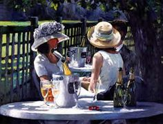 Champagne on ice by Sherree Valentine Daines