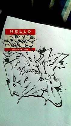sketches of graffiti tools drawing sketch blackbook Graffiti Art, Graffiti Alphabet Styles, Graffiti Lettering Alphabet, Graffiti Piece, Graffiti Words, Graffiti Pictures, Graffiti Writing, Graffiti Tagging, Graffiti Designs