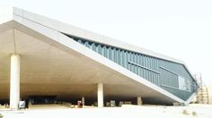 OMA-designed Qatar National Library nears completion in Doha