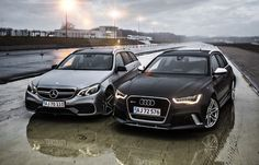Test: Audi RS6 vs. Mercedes-Benz E63 AMG S 4MATIC - I think the Audi was a little faster?