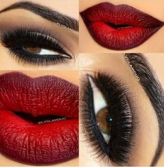 Sexy Valentines Day makeup
